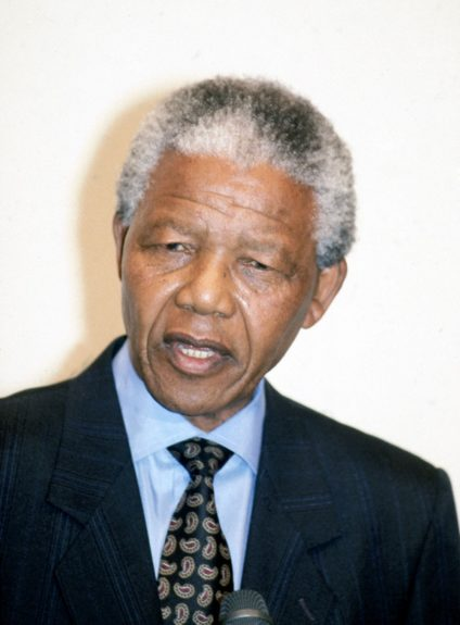 """Nelson Mandela is pictured in this 1990 photo.  View the entire EBONY Collection<strong><a href=""""http://www.ebony.com/store#axzz2PsEj7sec"""" target=""""_blank"""">here</a></strong>."""
