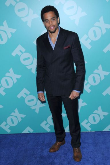 Michael Ealy at the 2013-14 FOX UpFront in New York City.