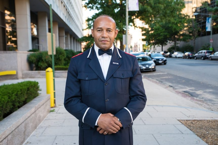 "<p> 	""This is just part of the beginning. I heard the message and now I'm gonna let it digest. And I pray I will be able to follow the marching orders we received.""- Maverick Muhammad, Nation of Islam</p> <p> 	Photo credit: Aaron Banks </p>"