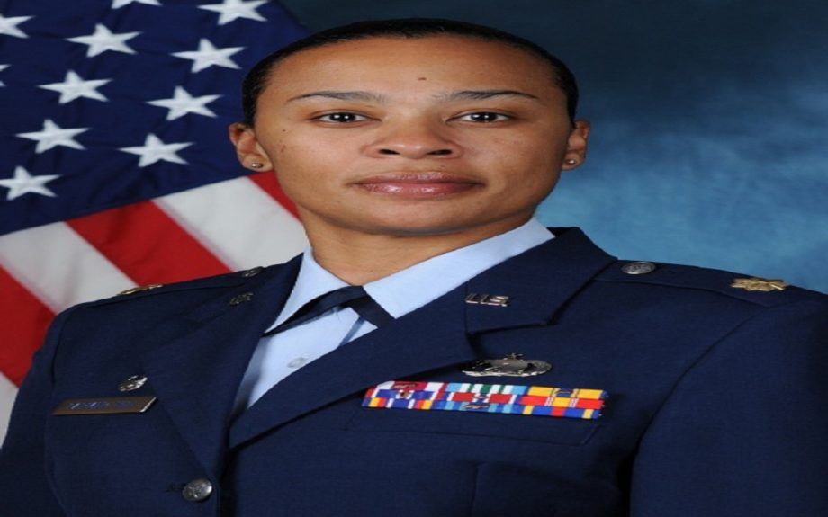 Air Force Major Ericka Farmer-Hill
