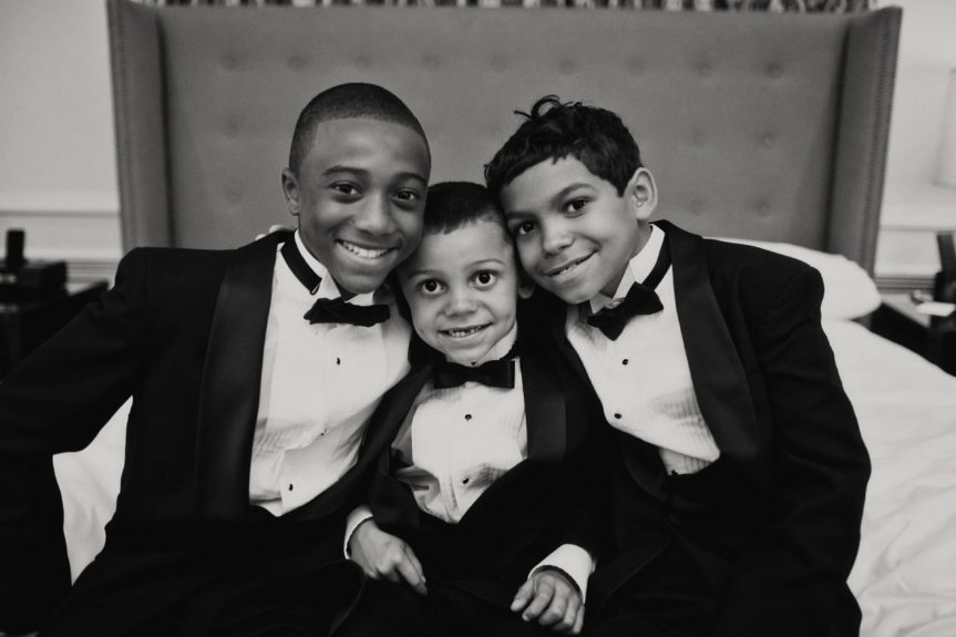 The little men of the ceremony