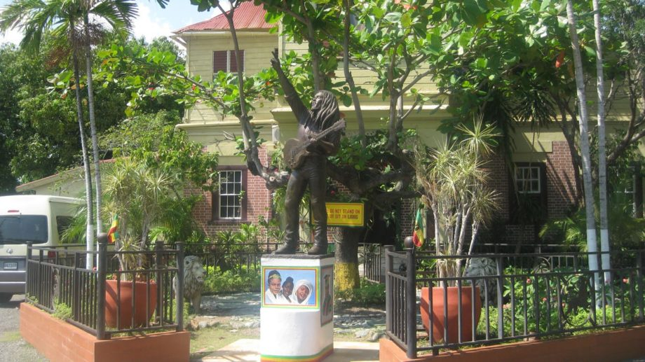 Home of the Legend, Bob Marley.