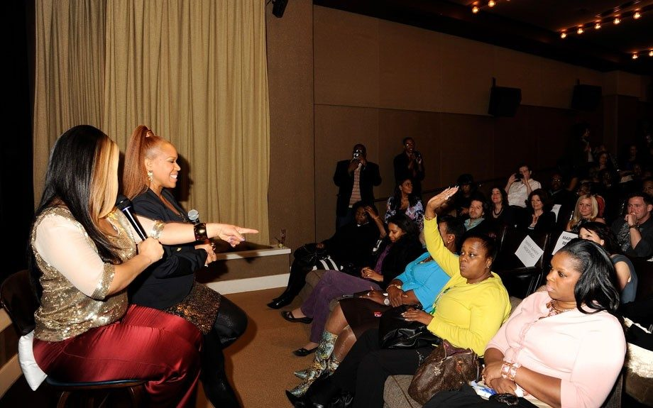 The audience eager to ask questions to our favorite gospel sisters