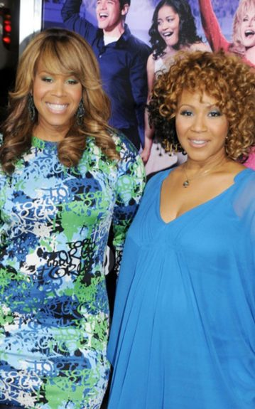 """Sisters With Voices: Mary Mary 's Tina Campbell and Erica Atkins-Campbell at the """"Joyful Noise"""" premiere"""