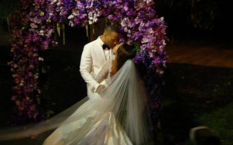 THIS DAY IN FASHION: Meagan Good Jumps the Broom