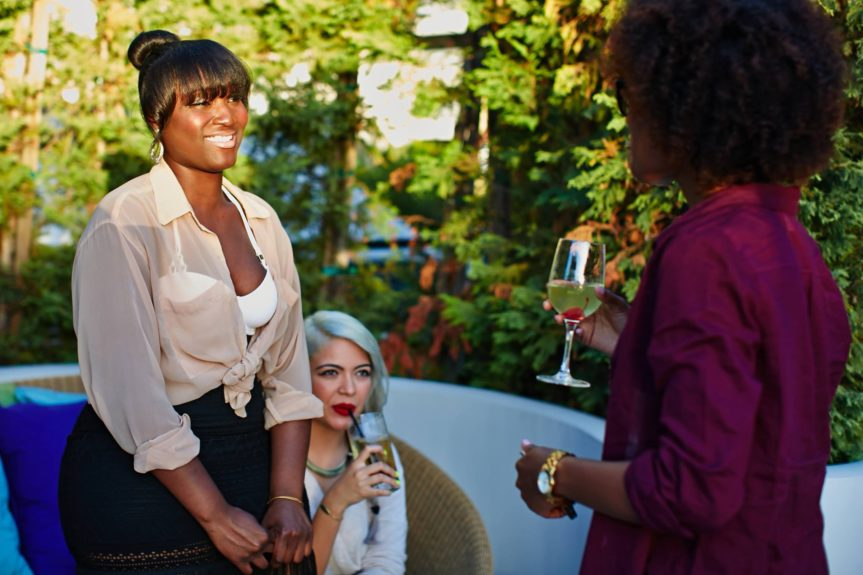 EBONY.com's Melanie Y. Martin talks hair and beauty with guests