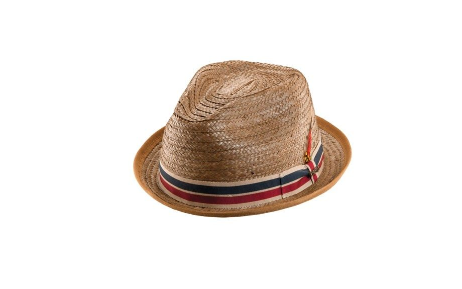 Christy's Brown Straw Fedora, $78 at ronrobinson.com