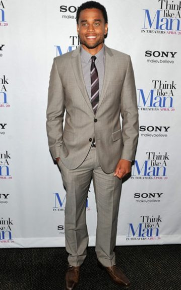 """Michael Ealy at the """"Think Like a Man"""" screening."""