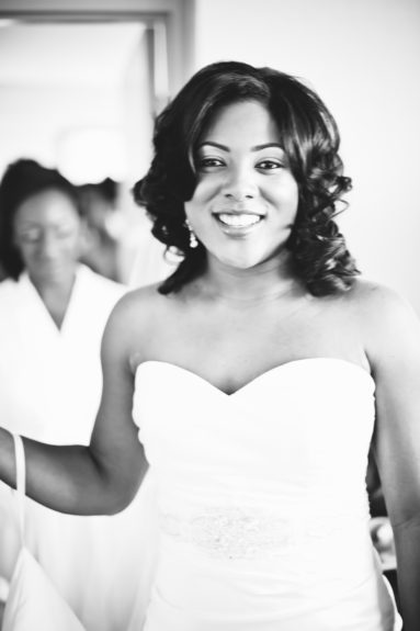 The Bride: Charity Miles Williams gets prepped to meet her groom