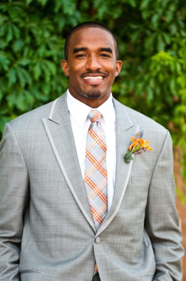 The Groom: Alonzo D. Williams is ready to marry his future wife