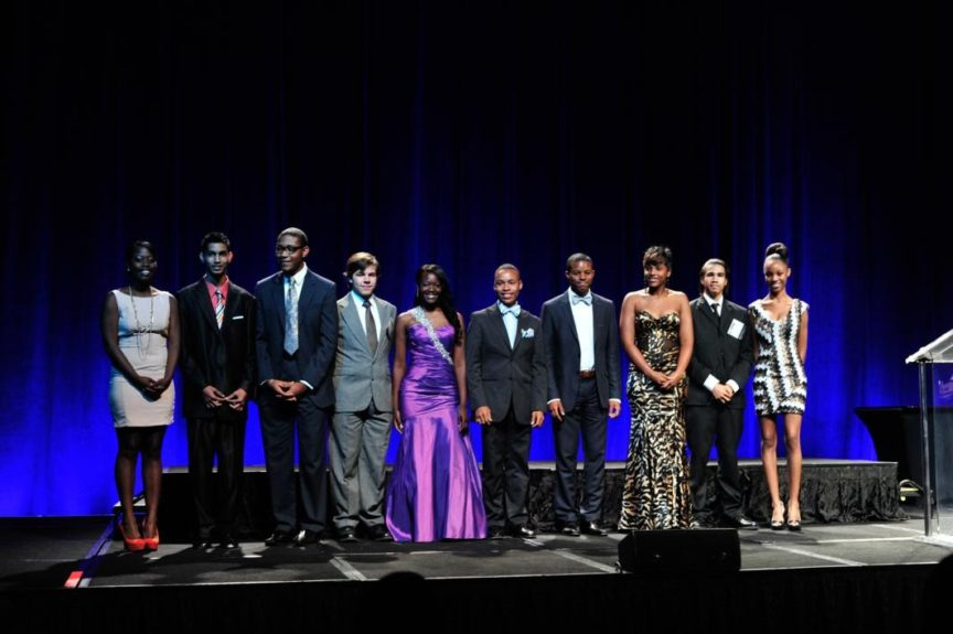 Twelve regional winners won trips to compete for national title in Metlife's MLK Drum Major for Justice Advocacy Competition.
