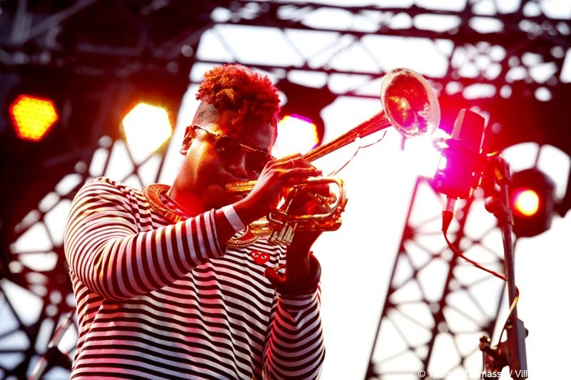 New Orleans-born trumpeter Christian Scott and his band helped kick off Day One of the 65th annual Nice Jazz Festival in the South of France.