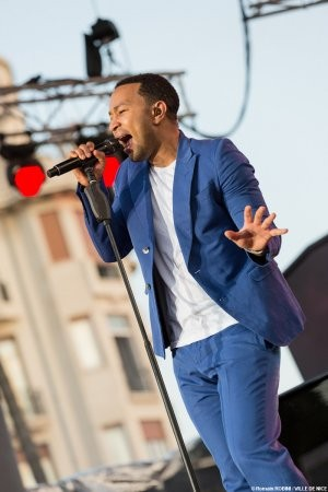 John Legend ruled the stage during the third night of the 65th annual Nice Jazz Festival in France.