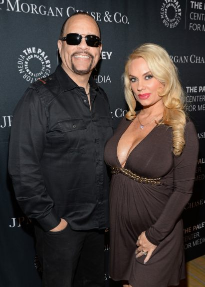 <p> Ice-T and wife Coco Austin</p>