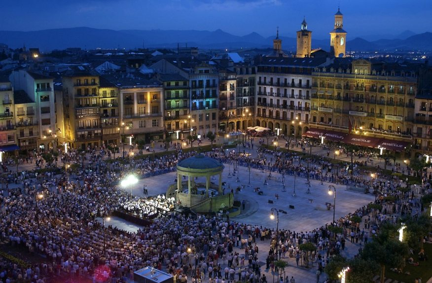 In Pamplona, life is lived outdoors—and Pamplona's lively plazas, such as Plaza del Castillo, offer plenty of first-rate people-watching.