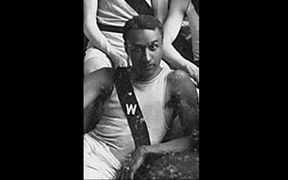 George Poage Poage made history as the first African American to win any kind of Olympic medal during the 1904 Olympic Games in St. Louis. He won two bronze medals for the 200 and 400 meter hurdles
