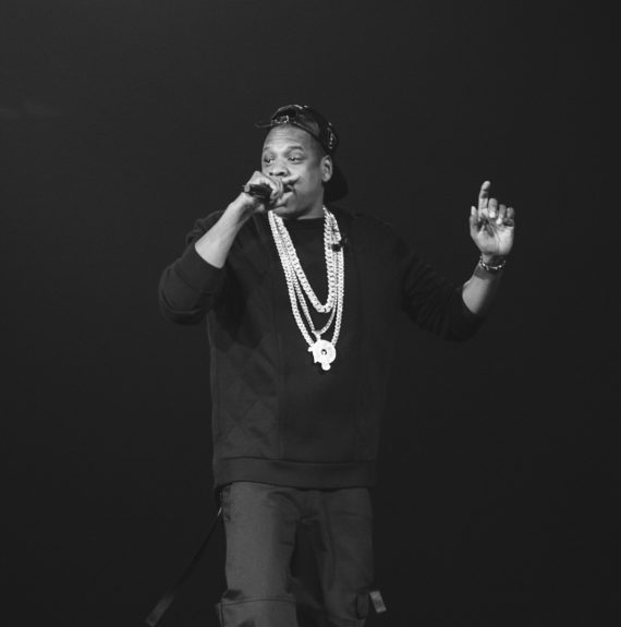 Charitably, Jay Z came out and graced the Beyhive with his presence on Beyoncé's last night in Brooklyn.