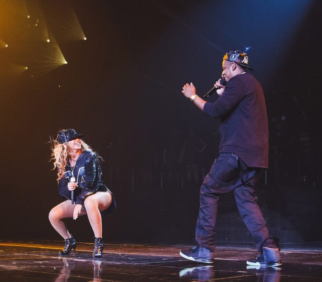 "Hip-hop's power couple performed ""Bow Down"" and ""Tom Ford"" at the Aug. 5 show."