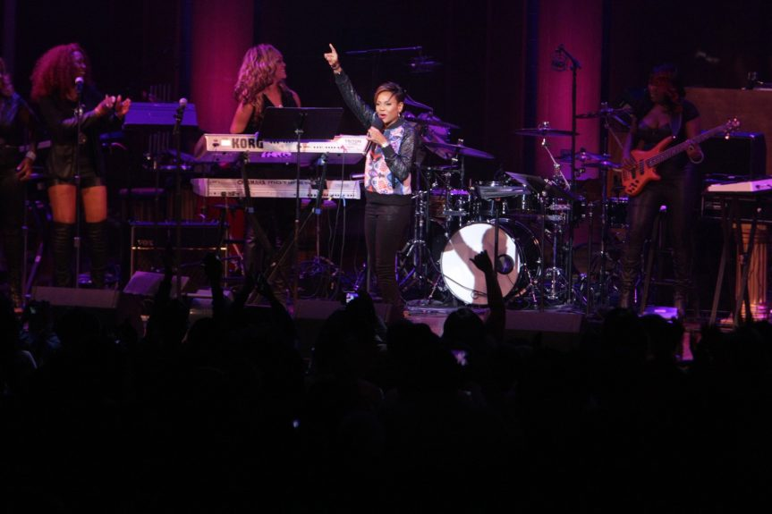MC Lyte, still lyte as a rock
