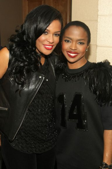 Organizer-founder Beverly Bond with the divine Ms. Lauryn Hill
