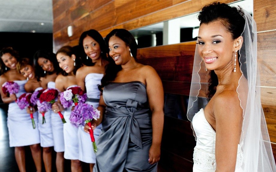 Natalie and her bridal party