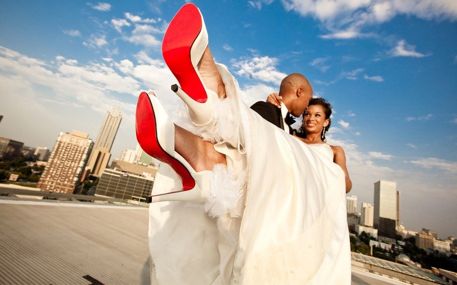 Now this is a shot! Nuptials and Fashion unites