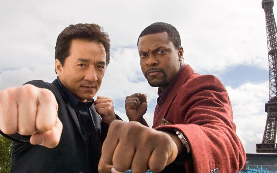 Funnyman Chris Tucker had audiences rolling as loud mouth Detective James Carter in the <em>Rush Hour </em>(1998, 2001, 2007) trilogy.