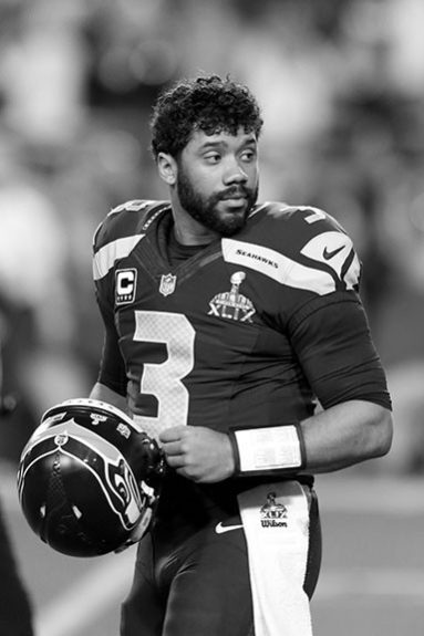 <p> 	<strong>2014</strong></p> <p> 	Russell Wilson became the second Black QB to win a Super Bowl, guiding the Seahawks to a blowout win in Super Bowl XLVIII.</p>