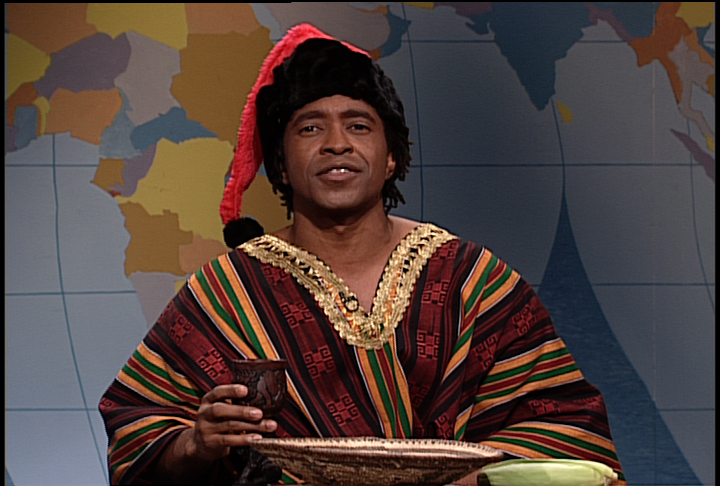 "For 10 seasons, Tim Meadows held the title for the longest tenured Black cast member. (Kenan Thompson now holds the title). Meadows' sketch of the Ladies Man (an overtly sexual talk show host) translated into a <a href=""http://www.youtube.com/watch?v=io3R6xx_l5Q"">feature film</a>."