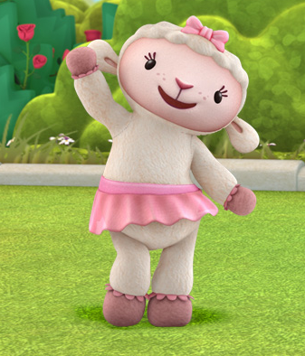 Furry creatures on Disney's Doc McStuffins