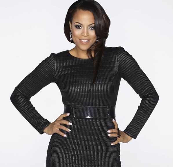 Something's different about Shaunie O'Neal: she's looking sexier than ever! Sporting this black textured long sleeve dress, wide black belt with an exaggerated buckle and tossed tresses, O'Neal is looking like MILF quality.