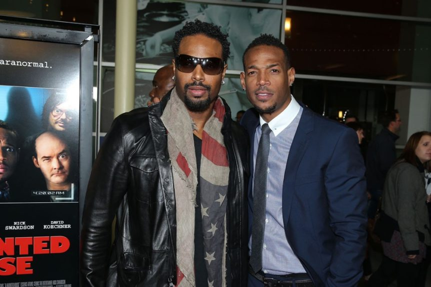Shawn Wayans came out to support his brother Marlon