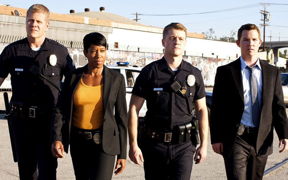 The talented Regina King plays the smart, yet tough Detective Lydia Adams in the young cop drama series Southland (2009-present.)