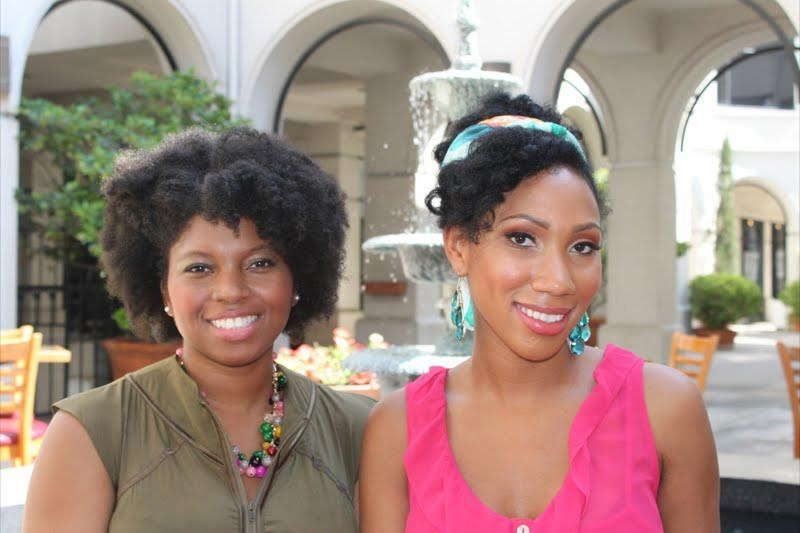 <strong>Sporty Afros</strong>  	Whitney Patterson and Alexandria Williams are connecting the dots between natural hair, fitness and nutrition with their website sportyafros.com. For women of color, our hair is one of our biggest concerns when it comes to working out.
