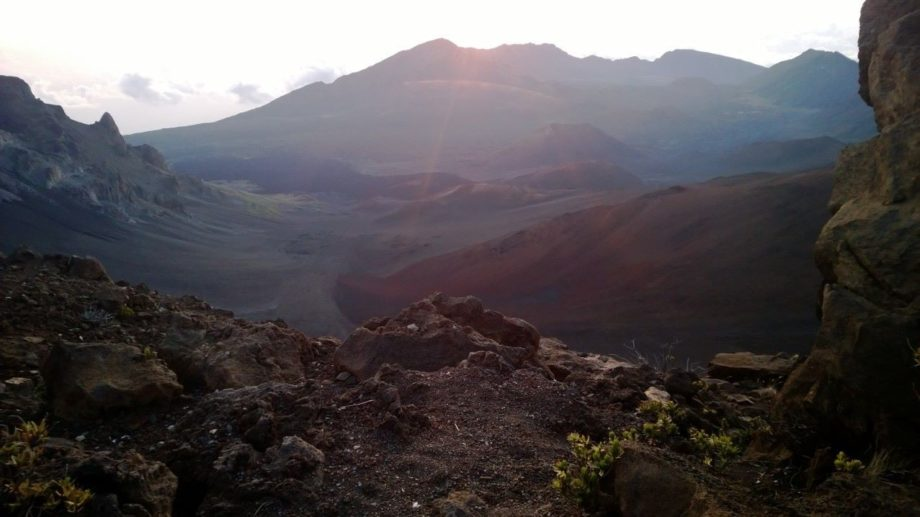 Early afternoon views of Haleakala Crater