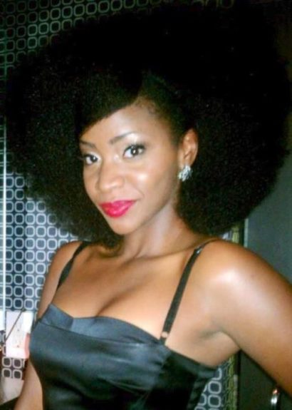 Take your Afro to the next level and try this chic bang swoop. Teyonah did that!