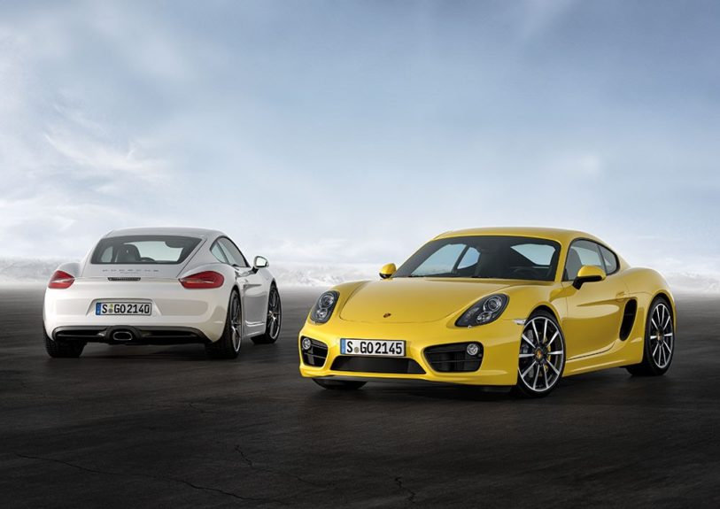 The 2014 Porsche Cayman will arrive in dealerships this spring