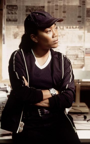 Favorite to fans and critics alike, <em>The Wire </em>(2002-2008), was another crime series that featured multiple authoritative roles for Black actors and actresses, like Sonja Sohn as Det. Kima Greggs.