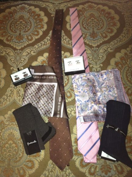 One of Jones' accessories packages