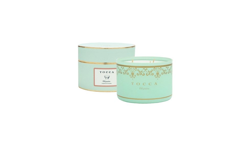 Every space deserves a fragrant candle. Brighten your mother's bedroom or office with a Tocca Brigitte Candle, $38 at tocca.com