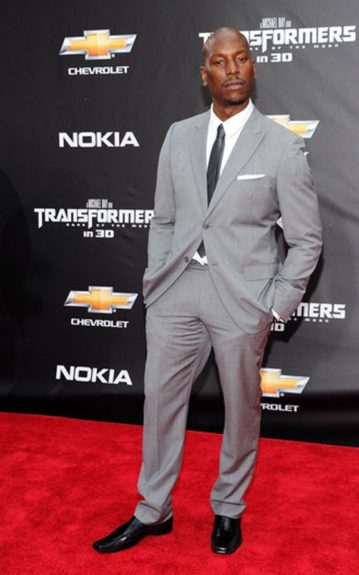 """Tyrese at the New York premiere of """"Transformers: Dark Side Of The Moon""""."""