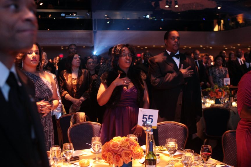 Guests at UNCF Mind Is gala dinner