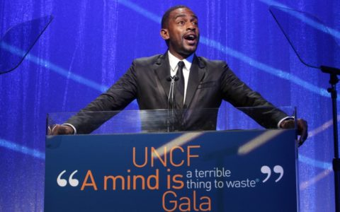[PHOTOS] UNCF Honors Giants Baller Justin Tuck and Teach for America at Annual 'A Mind Is' Gala