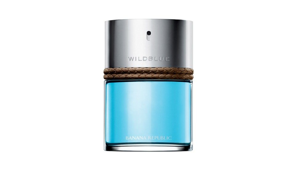 FRAGRANCE - The sophiscated retailer introduces a wilder way to keep it cool! Banana Republic Wild Blue Eau de Toilette, bananarepublic.com, $45