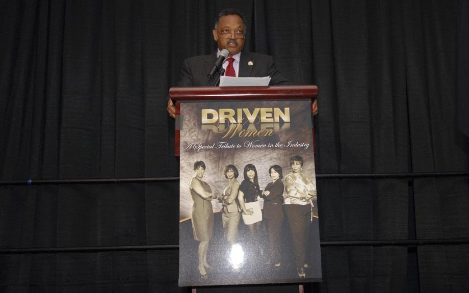 What's an auto event without Rev. Jesse Jackson? Jackson has played a behind-the-scene roll over the yeas, ensuring that African American dealers and suppliers get their fair representation from the auto industry.