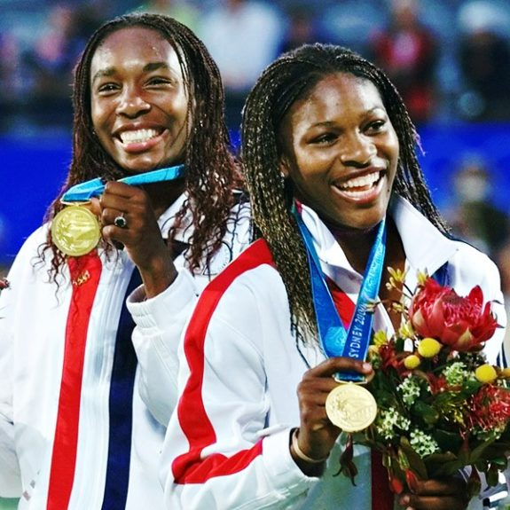 Olympic gold medals and natural hair work well together, don't you think?