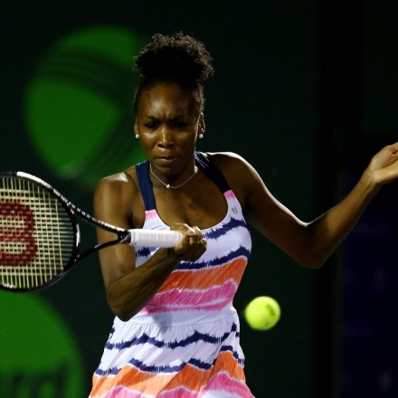 In true naturalista form, Venus's pineapple styled Afro is a true classic.