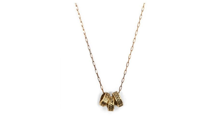 Vanessa Mooney Heart of Armour Necklace, $29 at singer22.com