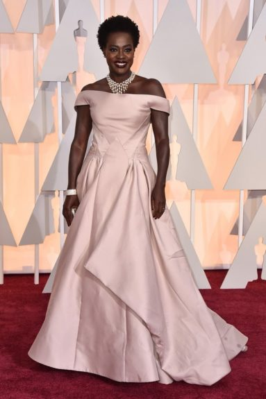 "Viola Davis: ""She didn't get away with this Zac Posen dress..."""