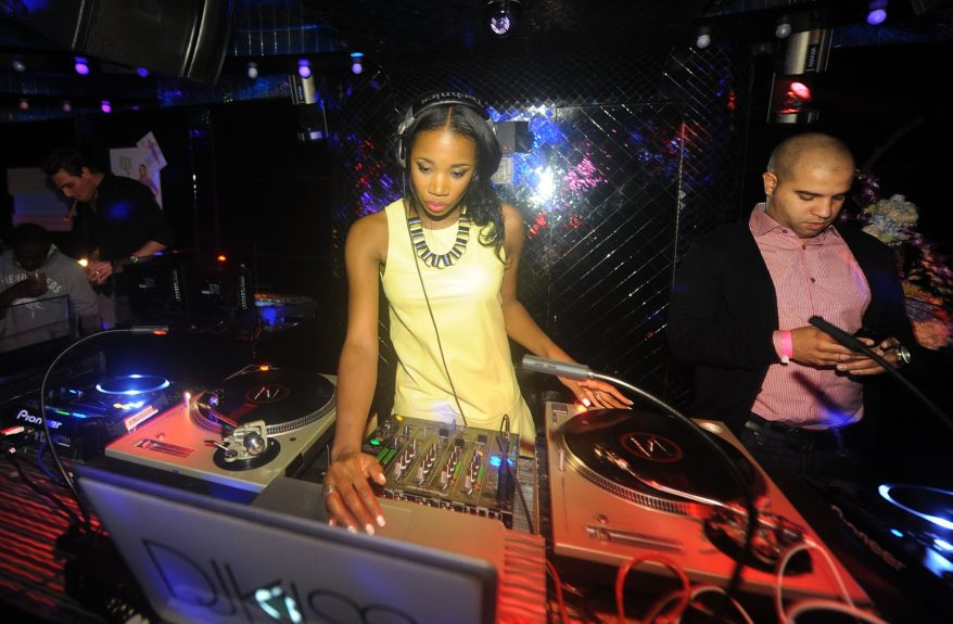 DJ Kiss brought down the house at Wendy's launch party